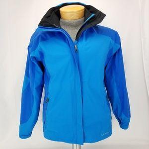 LL Bean Womens Small Regular Systems Zip Up Jacket